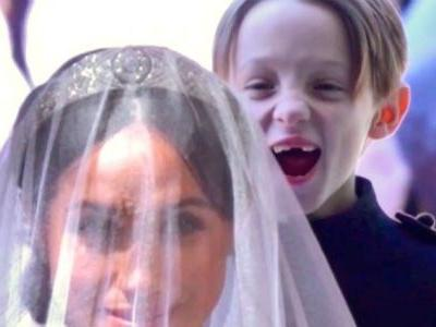 Smiling Kid At The Royal Wedding Goes Instantly Viral