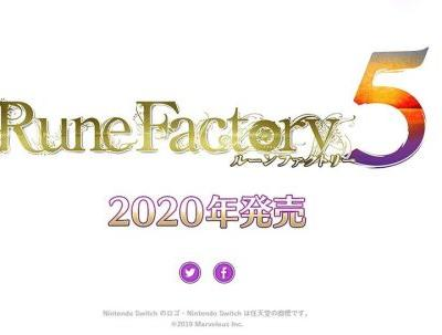 Rune Factory 5 Will Launch On Nintendo Switch In 2020