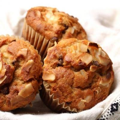 PB Chocolate Banana Muffins
