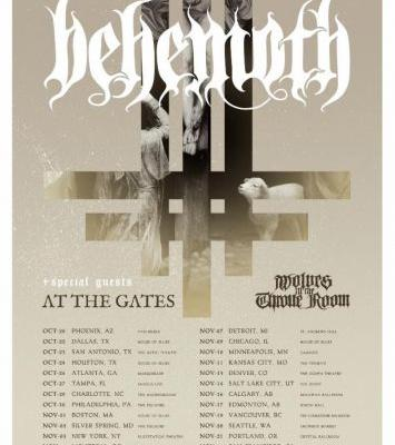 Behemoth announce fall 2018 North American headlining tour with support from At the Gates