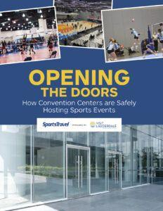 The Guide to How Convention Centers are Safely Hosting Sports Events