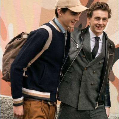 Eleventy Goes Preppy for Fall '18 Campaign