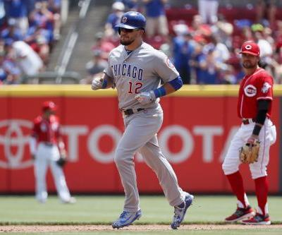 Backed by HRs, Darvish beats Reds 6-1 for 1st win with Cubs