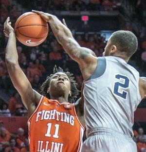 Stevens scores 25 to lead Penn State past Illinois 83-76