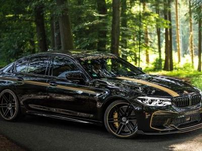 The Manhart MH5 700 Is An Angry BMW M5 With 713bhp On Tap