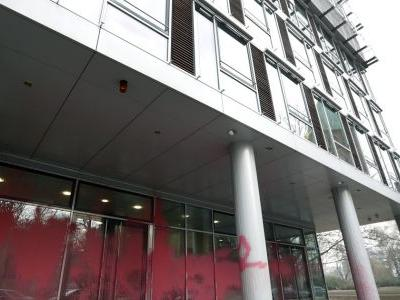 Brazilian embassy in Berlin vandalized with rocks, paint