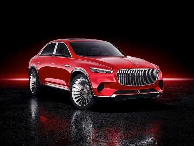 Vision Mercedes-Maybach Ultimate Luxury Is Hard To Look At