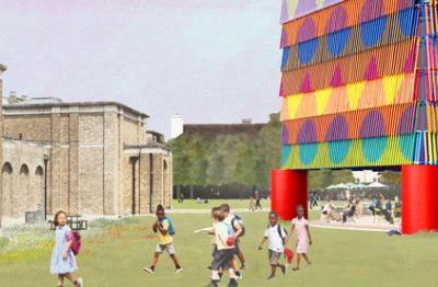 """""""The Colour Palace"""" Chosen to be the 2019 Dulwich Pavilion in London"""
