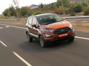 2018 Ford EcoSport S 10 EcoBoost First Drive Review