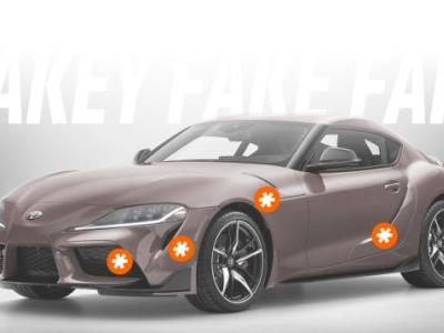 Here's Every Fake Vent on the 2020 Toyota Supra