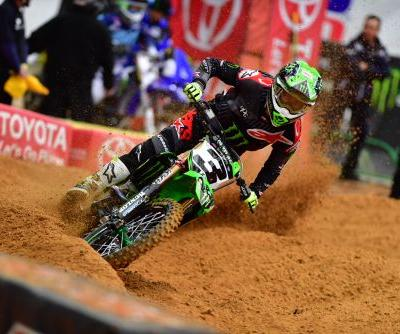 MONSTER ENERGY®/PRO CIRCUIT/KAWASAKI FINISHES SECOND IN HOUSTON