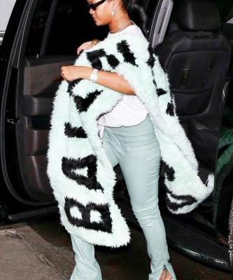 Rihanna Wore the Fall Color Trend That's Replacing Neon
