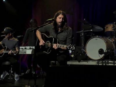 Watch Foo Fighters Perform Acoustic Set From Empty Troubadour For Save Our Stages Fest