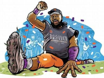 Tiny oral history: Christian Wilkins' epic split