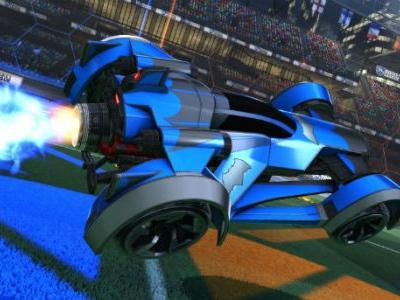 Rocket League DLC Adding Pair Of Batmobiles & DC Comics Decals