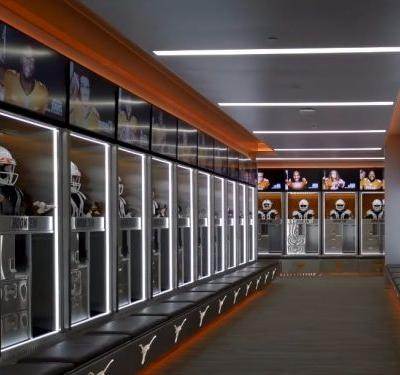 The University of Texas spent $7 million remodeling their football locker room and the results are jaw-dropping