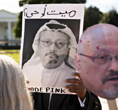 'Their stories are all over the place': Trump backtracks from 'credible' stance on Khashoggi killing