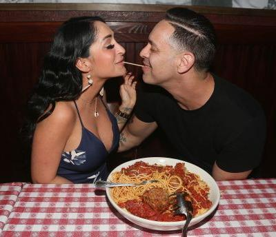 Angelina From 'Jersey Shore' and Her Fiancé Chris Larangeira Are RelationshipGoals
