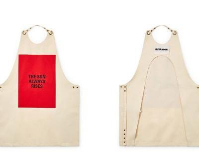 Jil Sander Does Kitchen Aprons, But Makes It Fashion