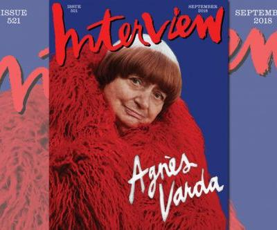 'Interview Magazine' Relaunches With Cover Star Agnès Varda