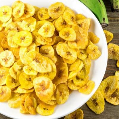 Homemade Plantain Chips