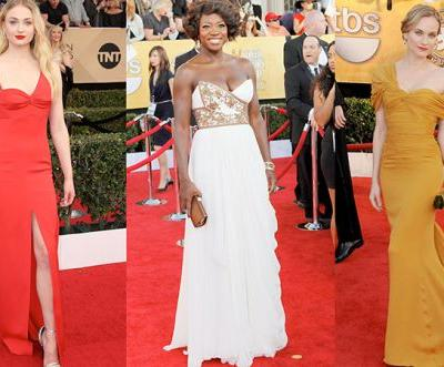 The best dresses in SAG Awards history