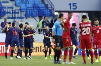 Thailand beats Bahrain in Asian Cup after changing coaches