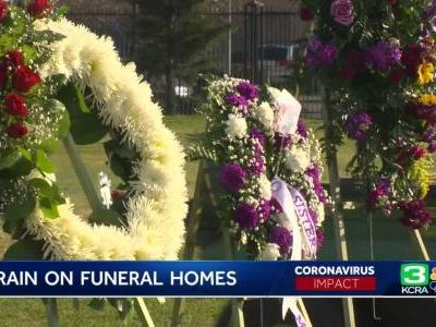 Weeks-long wait for Sacramento-area funeral services as COVID-19 related deaths increase