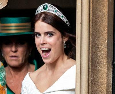 Princess Eugenie's wedding reception was quite the party