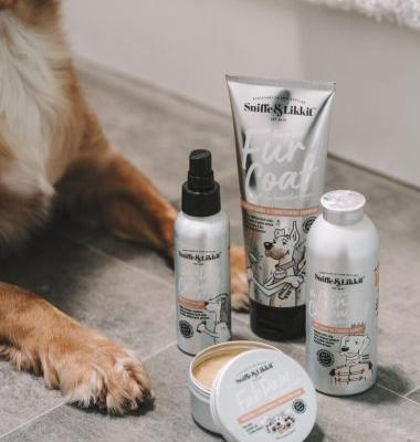 Archie's New Beauty Regime: Sniffe & Likkit Dog Grooming Products For Pampered Pooches