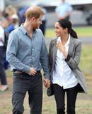 These Photos From Prince Harry and Meghan Markle's Tour Look Like Scenes From a Rom-Com