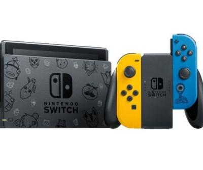 Fortnite-Themed Nintendo Switch Available For Preorder In The UK