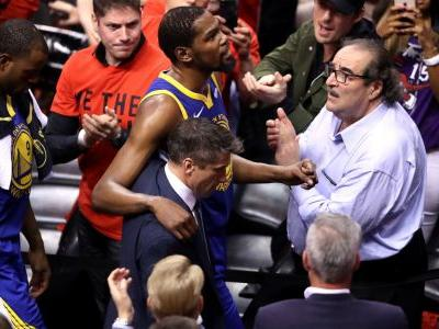 NBA players react on Twitter to Kevin Durant's leg injury