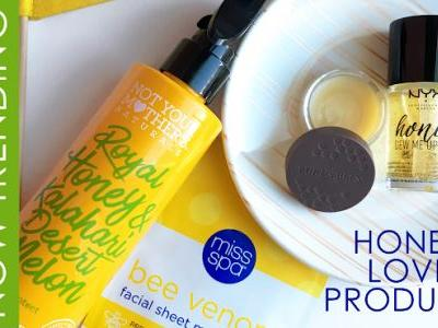 HONEY LOVE BUZZWORTHY BEAUTY PRODUCTS