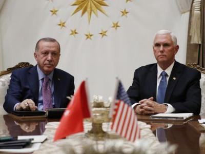 Pence Say Turkey Has Agreed To Suspend Its Incursion Into Syria