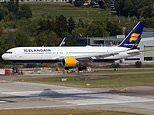 Icelandair jet makes emergency landing in Canada after window 'shatters' in the cockpit