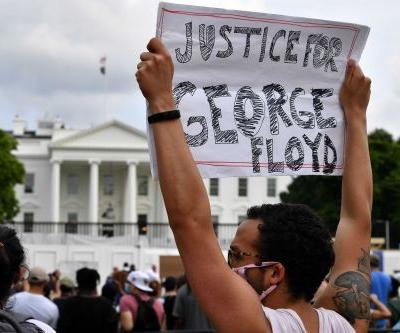 Powerful and peaceful moments from the George Floyd protests