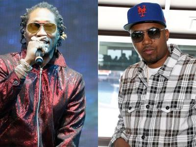 "Future and Nas Hang Out in a Lounge on DJ Esco's ""Walk Thru"""