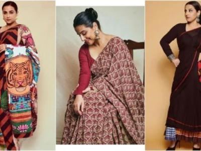 5 sarees we want to steal from Vidya Balan right now. On Fashion Friday