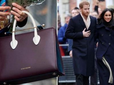 Meghan Markle's handbag worn during Nottingham visit is being auctioned off for charity