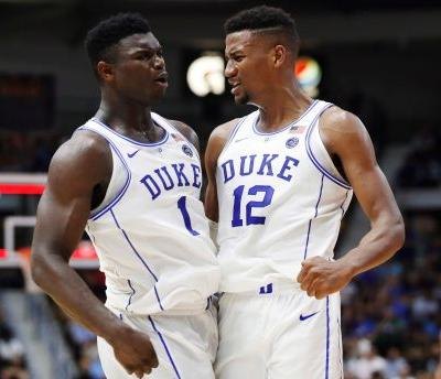 Duke steady at No. 1 as Villanova tumbles from Top 25
