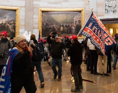 Shocking Footage Shows Trump Rioters Discussing Capitol Floor Plan, Plotting Strategy to Move Through the Building