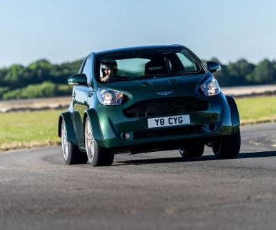 Aston Martin's V8 Powered Cygnet Revealed