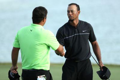 Is Tiger Woods shedding his golf Terminator persona?