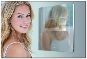 Capstone Connected Home Google-Enabled Smart Mirror at CES 2019