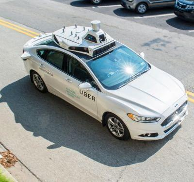 A self-driving Uber just struck and killed a woman - here's a look at how its autonomous cars work