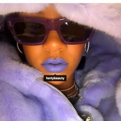Rihanna Just Revealed TWO New Fenty Lipsticks Coming - Including Lavender!