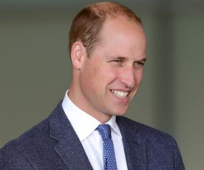 Prince William jokes about his thinning hair