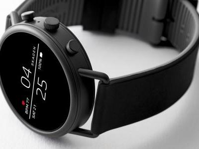 Skagen Falster 2 goes official w/ NFC, heart rate monitor, 'swimproof' design