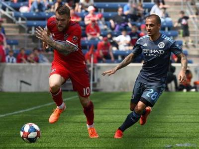NYCFC extend unbeaten streak with Fire draw